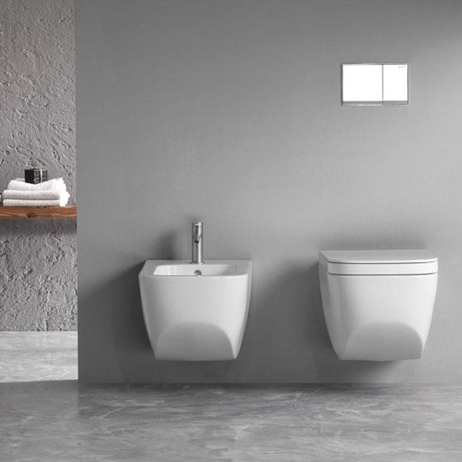 Sanitari per bagno sospesi